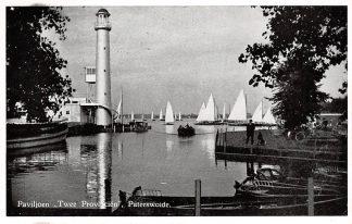 Ansichtkaart Paterswolde Paviljoen Twee Provincien 1957 Zeilschepen HC16479