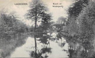 Ansichtkaart Laag-Soeren Bosch- en Waterpartij Rheden HC16510