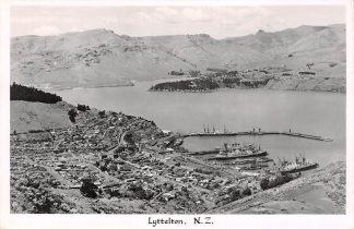 Ansichtkaart New Zealand Lyttelton Fotokaart Australië HC16516