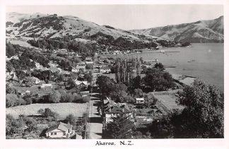 Ansichtkaart New Zealand Akaroa Fotokaart Australië HC16518