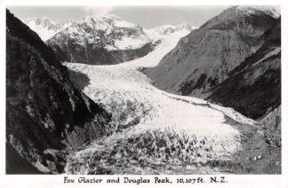 Ansichtkaart New Zealand Fox Glacier and Douglas Peak 10.017 ft. Fotokaart Australië HC16520