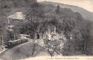 Ansichtkaart Zwitserland Chemin de fer Montreux Glion Trein Spoorwegen Schweiz Switzerland Suisse HC16528