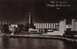 Ansichtkaart USA Chicago 1933 World's Fair Hall of Science Noord-Amerika HC16545