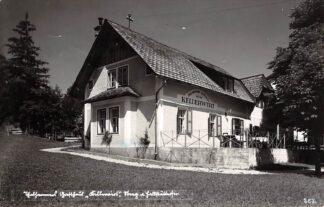 Ansichtkaart Oostenrijk Bad Goisern Thalhammer's Gasthaus zum Kellerwirt Fotokaart Osterreich Austria Europa HC16548