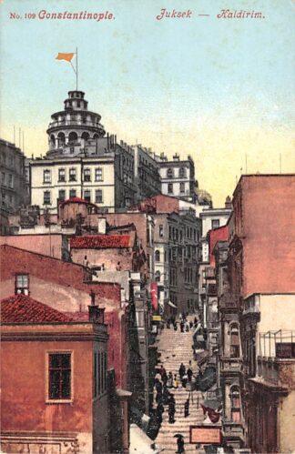 Ansichtkaart Turkije Constantinople Juksek Kaldirim Turkey Europa HC16578