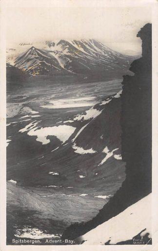 Ansichtkaart Noorwegen Spitsbergen Advent- Bay 1924 Norge Norway Europa HC16579