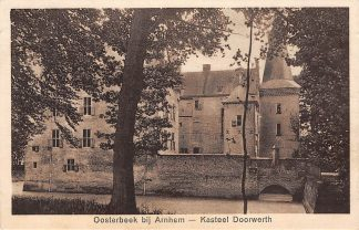 Ansichtkaart Oosterbeek bij Arnhem Kasteel Doorwerth 1928 HC16583