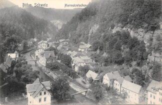 Ansichtkaart Zwitserland Böhm Herrnskretschen Schweiz Switzerland Suisse Europa HC16638