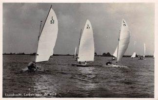 Ansichtkaart Loosdrecht Larken voor de wind 1945 Fotokaart HC16723