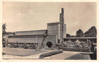 Ansichtkaart Hilversum Schuttersweg U.L.O. - School 1944 Type fotokaart HC16733