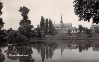 Ansichtkaart Goes Oostwal met kerk Newo fotokaart HC16736