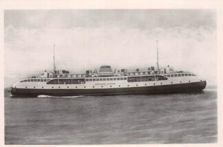 Ansichtkaart Vlissingen - Breskens Provinciale boot Koningin Juliana 1949 Veer Scheepvaart Schepen HC16737