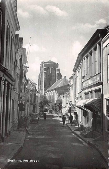 Ansichtkaart Zierikzee Poststraat 1961 HC16749