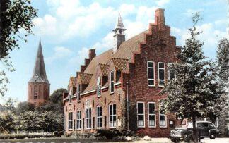 Ansichtkaart Sleen Gemeentehuis Auto 1961 HC16779