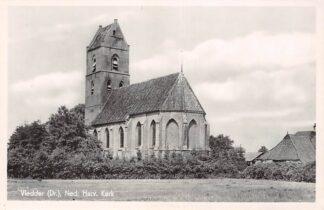 Ansichtkaart Vledder Drenthe Ned. Hervormde Kerk 1942 HC16787