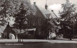 Ansichtkaart Dwingeloo Gemeentehuis 1964 HC16801