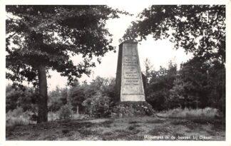 Ansichtkaart Diever Monument in de bossen 1961 HC16802