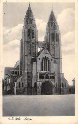 Ansichtkaart Laren (NH) R.K. Kerk 1947 HC16805