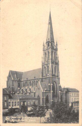 Ansichtkaart België Aalst St. Jozefs kerk Europa HC16806