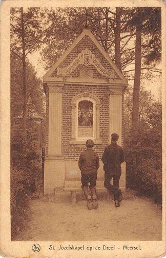 Ansichtkaart België Meerssel St. Jozefskapel op de Dreef Europa HC16807