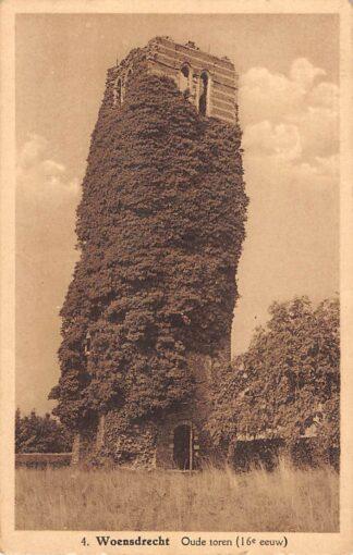 Ansichtkaart Woensdrecht Oude Toren (16e eeuw) 1940 HC16808