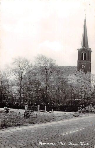 Ansichtkaart Hommerts Ned. Hervormde Kerk Onder Sneek HC16813
