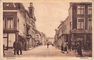 Ansichtkaart Gorinchem Haarstraat 1928 HC16825