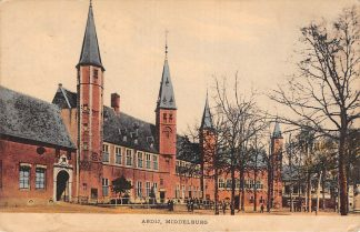 Ansichtkaart Middelburg Abdij 1922 HC16859