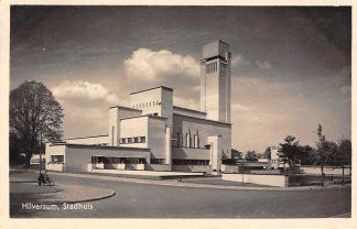 Ansichtkaart Hilversum Stadhuis 1944 Type fotokaart HC16861