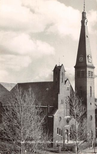 Ansichtkaart Vlaardingen Ned. Hervormde Kerk Binnensingel HC16883