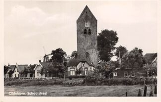 Ansichtkaart Oldehove Schoolstraat Zuidhorn 1947 HC16915