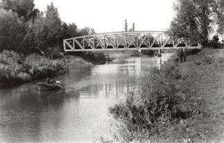 Ansichtkaart Zo was Dordrecht Oranjelaan 1940 Brug over de Vlij HC16920