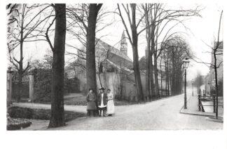 Ansichtkaart Zo was Dordrecht Van Strij-singel omstreeks 1900 HC16921