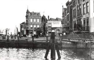 Ansichtkaart Zo was Dordrecht Merwekade Kippenbrug 1910 HC16926