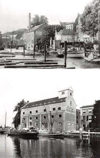 Ansichtkaart Zo was Dordrecht Maartensgat omstreeks 1900 en 1915 HC16930
