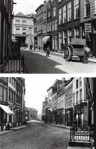 Ansichtkaart Zo was Dordrecht Prinsenstraat omstreeks 1905 HC16938