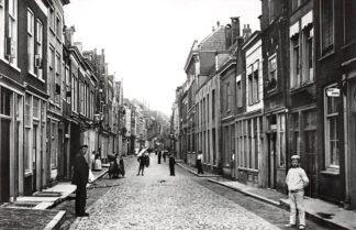 Ansichtkaart Zo was Dordrecht Nieuwstraat omstreeks 1905 HC16946