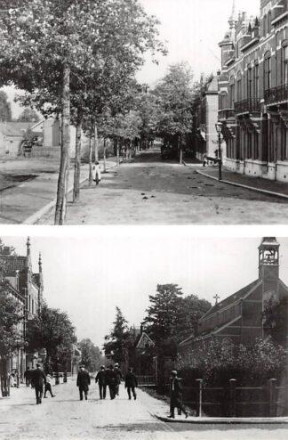 Ansichtkaart Zo was Dordrecht Van Strij-singel omstreeks 1910 Kerk HC16988
