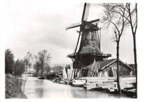 Ansichtkaart Zo was Dordrecht Oranjelaan hoek Noordendijk Molen De Nachtegaal omstreeks 1920 HC16994