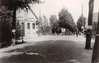 Ansichtkaart Zo was Dordrecht Straatweg a.d. 1e Tol 1936 Café Billard HC16996