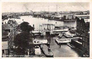 Ansichtkaart Amsterdam Panorama Oosterdok 1936 HC17016