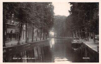 Ansichtkaart Gouda Oost en Westhaven Fotokaart HC17060