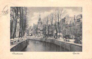Ansichtkaart Gouda Oosthaven begin jaren 50 HC17064