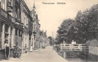 Ansichtkaart Gouda Peperstraat Gouda Gompers HC17102