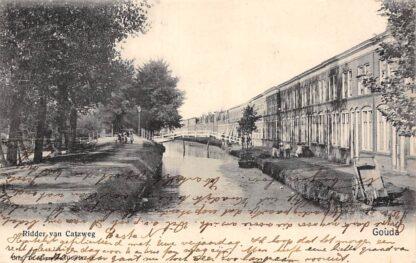 Ansichtkaart Gouda Ridder van Catsweg Gompers HC17106