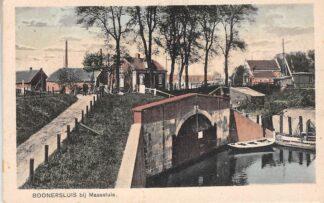 Ansichtkaart Maassluis Booner sluis HC17179
