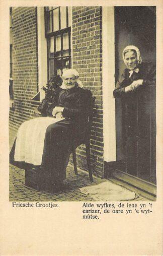 Ansichtkaart Bolsward Friesche Grootjes Klederdracht Friesland 1921 HC17184