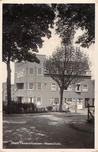 Ansichtkaart Maassluis Hoek Fenacoliuslaan HC17190