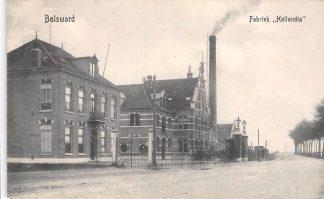 Ansichtkaart Bolsward Fabriek Hollandia Zuivelfabriek HC17201