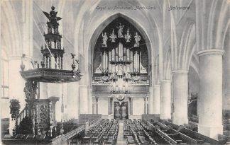 Ansichtkaart Bolsward Orgel en Preekstoel Martinikerk 1910 HC17205